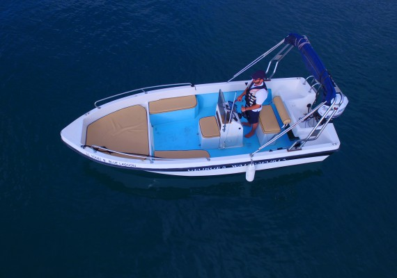 60HP boat - 5.3m long